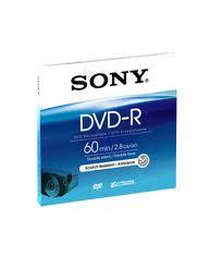 Sony DVD-R 2,8GB 8cm Jewel Case DMR 60 A