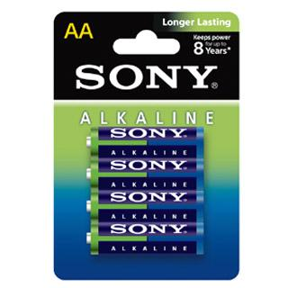 SONY LR-06 (AA) 4-PACK ECO PACK  AM3L-B4D AALR6
