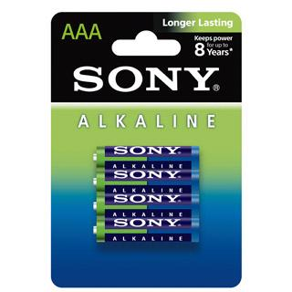 SONY LR-03 (AAA) 4-PACK ECO PACK  LR03AM4-LB4D