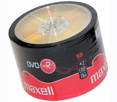 Maxell 16x DVD-R 50 Pack Spindle