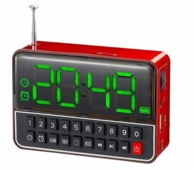 TIME CLOCK FM MP3  SPEAKERS ALARM